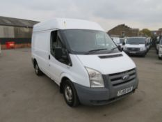 59 reg FORD TRANSIT 115 T280S FWD (DIRECT COUNCIL) 1ST REG 12/09, TEST 01/21, 124485M, V5 HERE