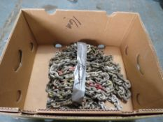 BOX OF HEAVY CHAIN APPROX 16M [NO VAT]
