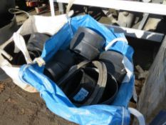 2 x TON BAGS ASSTD SIZE POLY PIPE FITTINGS & SEALS (3) [+ VAT]