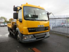 58 reg DAF FA LF45.160 CRANE WAGON (DIRECT COUNCIL) 1ST REG 02/09, 98089M, V5 HERE [+ VAT]