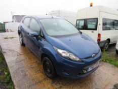 10 reg FORD FIESTA EDGE TDCI 68 HATCHBACK (DIRECT COUNCIL) 1ST REG 03/10, V5 HERE, 1 OWNER FROM