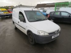 11 reg VAUXHALL COMBO 2000 CDTI, 1ST REG 03/11, TEST 01/21, 137601M, V5 HERE, 5 FORMER KEEPERS [NO