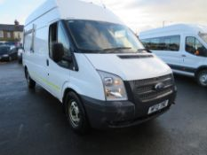 12 reg FORD TRANSIT 125 T350 RWD (DIRECT ELECTRICITY NW) 1ST REG 04/12, TEST 03/21, V5 MAY FOLLOW [+