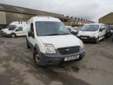 13 reg FORD TRANSIT CONNECT 90 T230 (DIRECT UNITED UTILITIES WATER) 1ST REG 04/13, TEST 06/21,