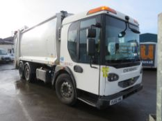 60 reg DENNIS N2630VCR5 REFUSE WAGON (DIRECT COUNCIL) 1ST REG 10/10, 74751M, V5 HERE, 1 OWNER FROM