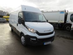15 reg IVECO DAILY 35S13 XLB, 1ST REG 04/15, TEST 06/21, 94066M NOT WARRANTED, V5 HERE, 1 FORMER
