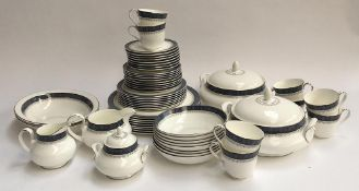 A Royal Doulton 'Sherbrooke' dinner service, approx. 57 pieces