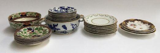 A mixed lot of ceramics to include Royal Worcester 'Vitrious' twin handled fruit bowl, and 11 bowls;