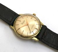 An Accurist 21 j automatic Shockmaster gents wristwatch, 33mmD