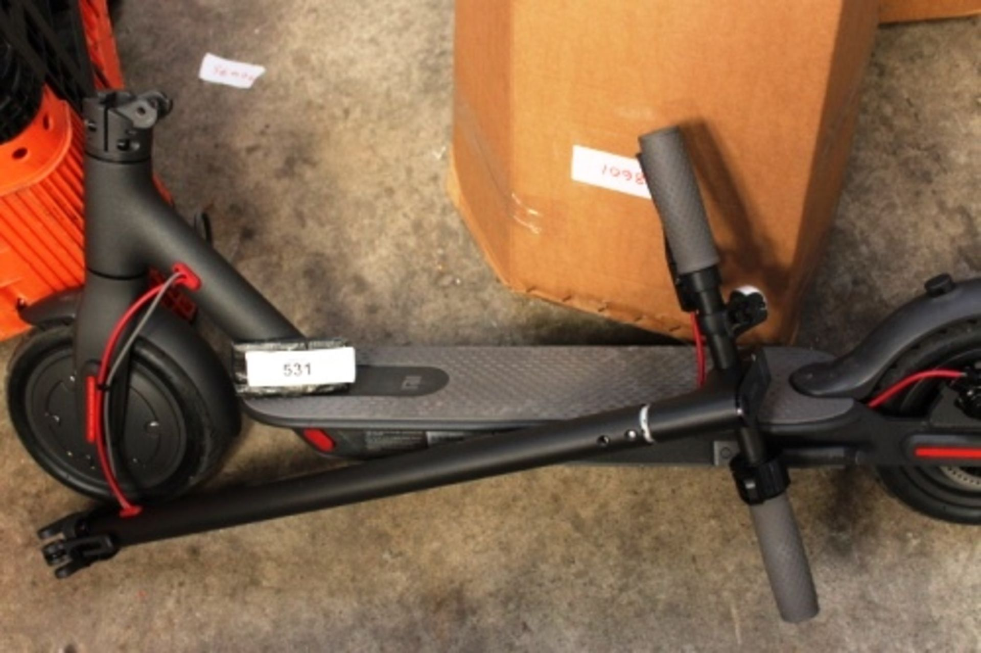 Lot 531 - 1 x Mi electric scooter, model M365, 42V, disassembled - Sold as seen (esfloor)