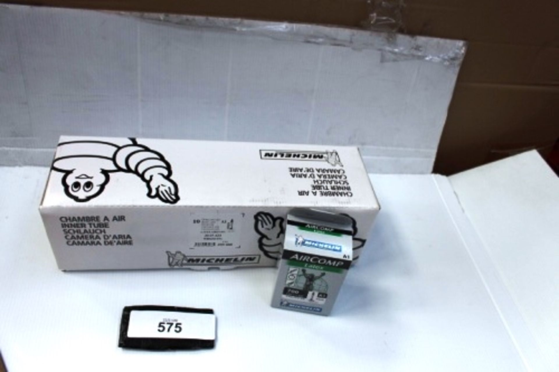 Lot 575 - 10 x Michelin Air Comp Latex 60mm 700 x 22/23C inner tubes - New in box (ES13)