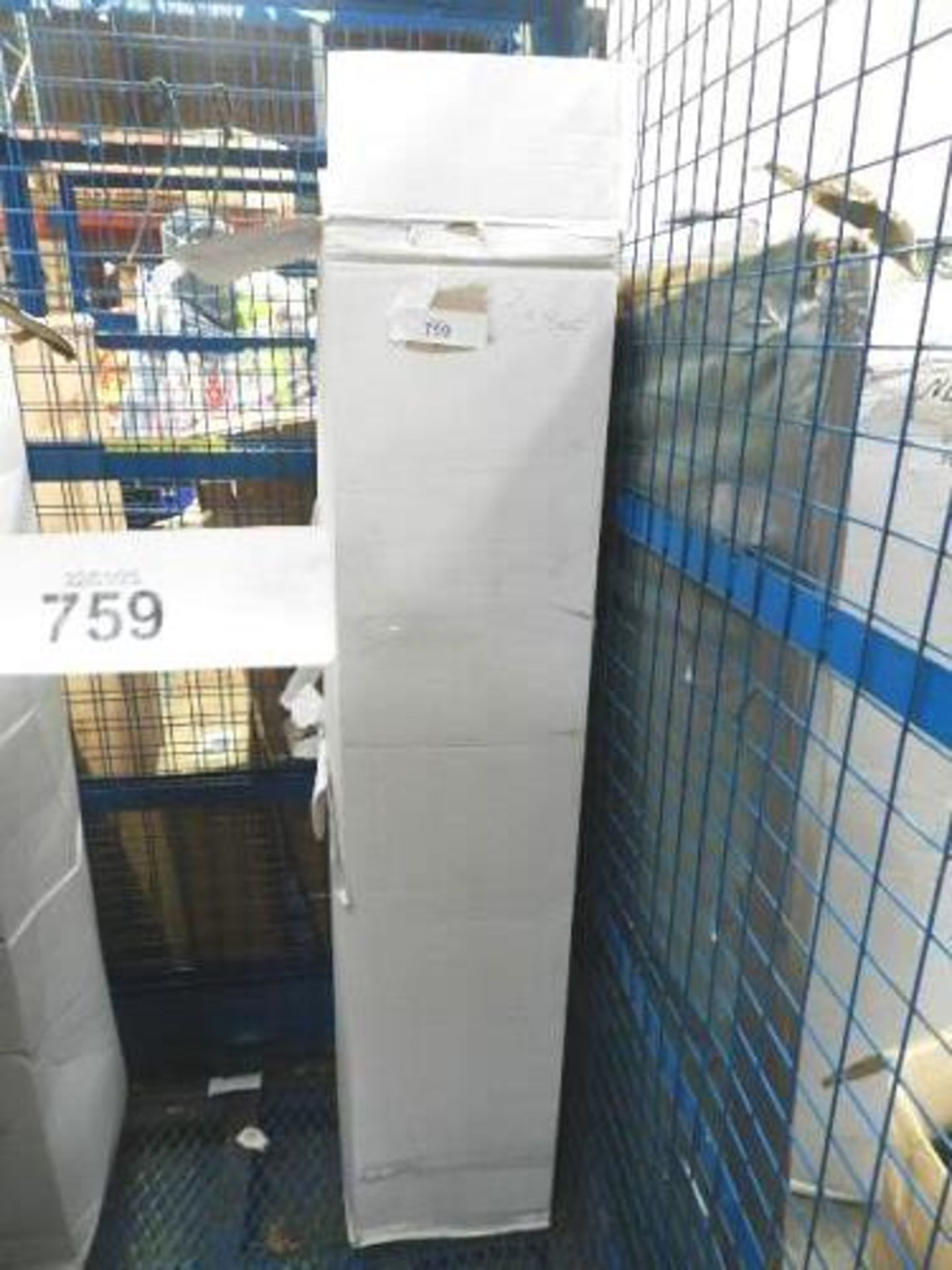 Lot 759 - 1 x sprung double mattress, Ref: 1102, size 4.5ft x 6.5ft - Sealed new in box (GSF31)