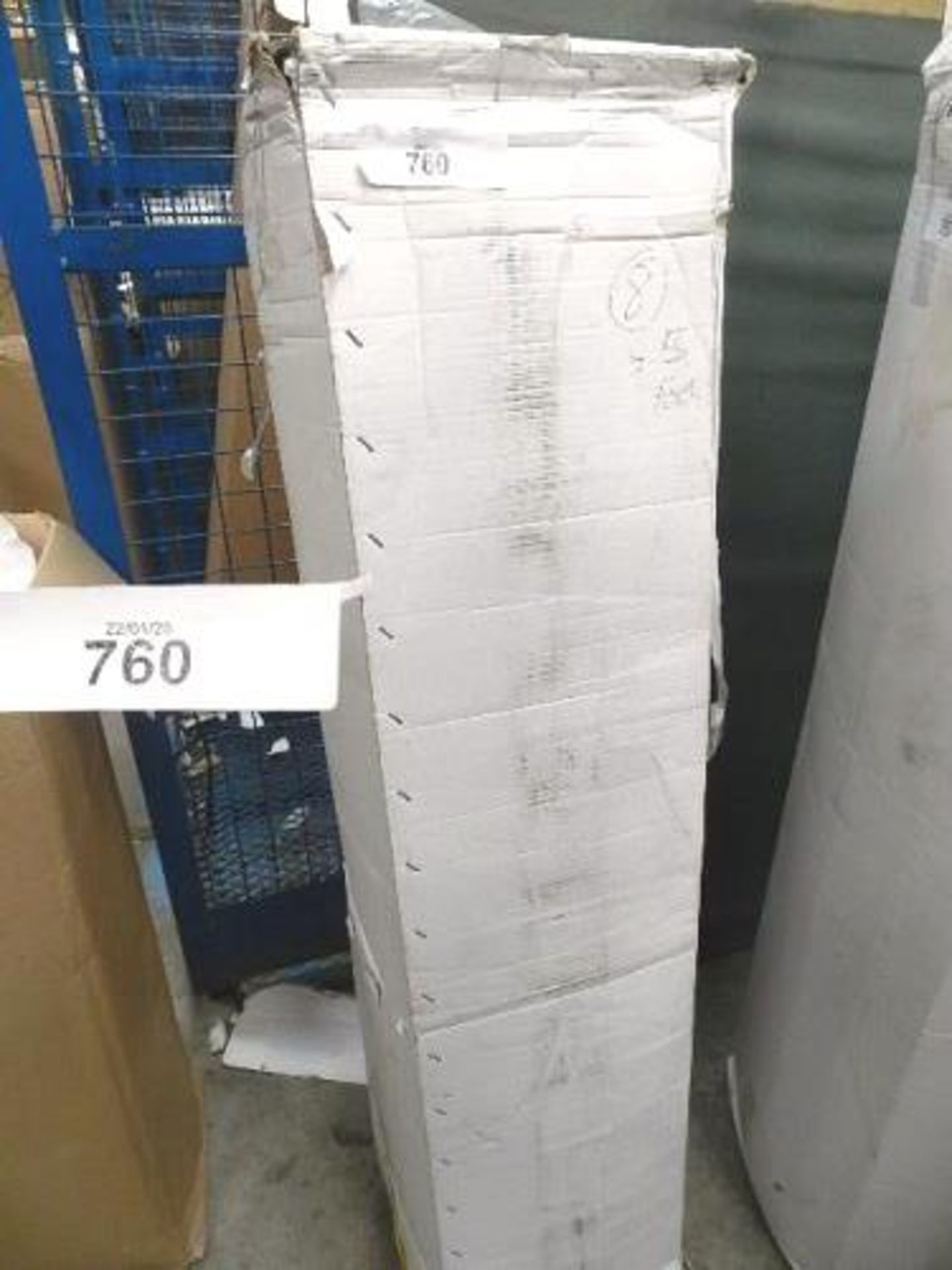 Lot 760 - 1 x sprung double mattress, 4.5ft wide - Sealed new in box (GSF31)