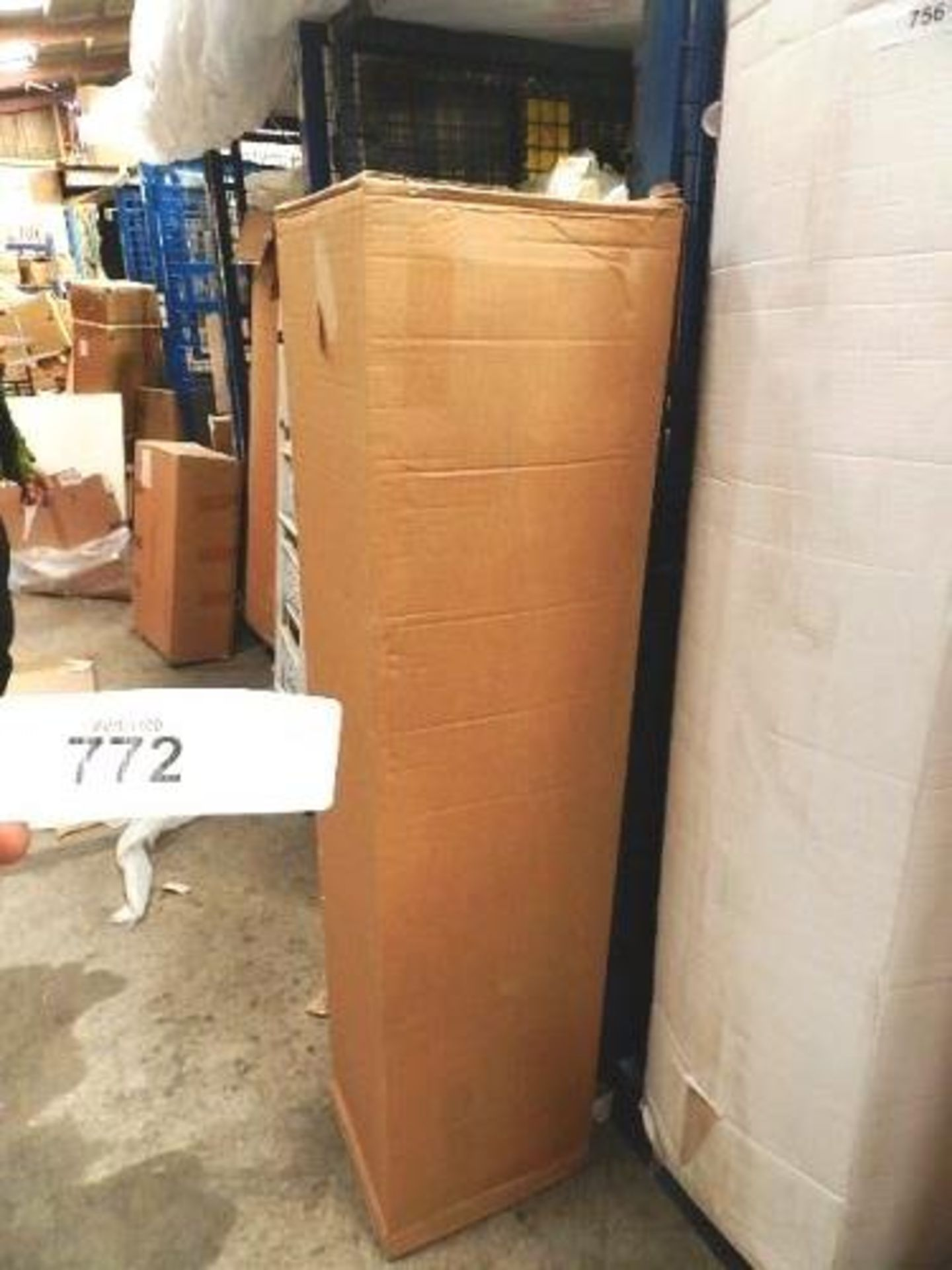 Lot 772 - 1 x sprung double mattress, 4ft wide - Sealed new in box (GSF33)