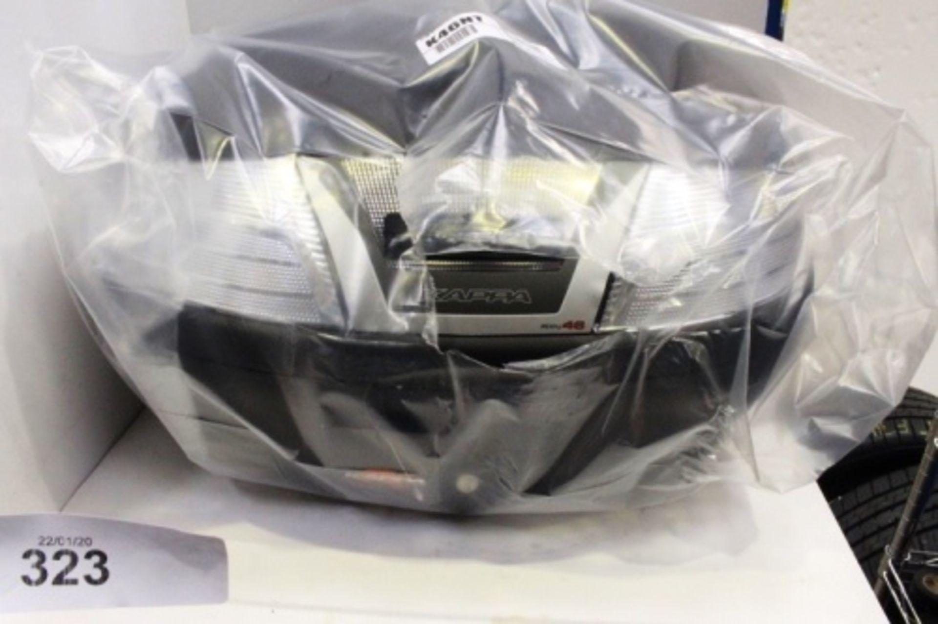 Lot 323 - A Kappa Valigia Zippy 46 motorbike storage box - New in box (GS7)