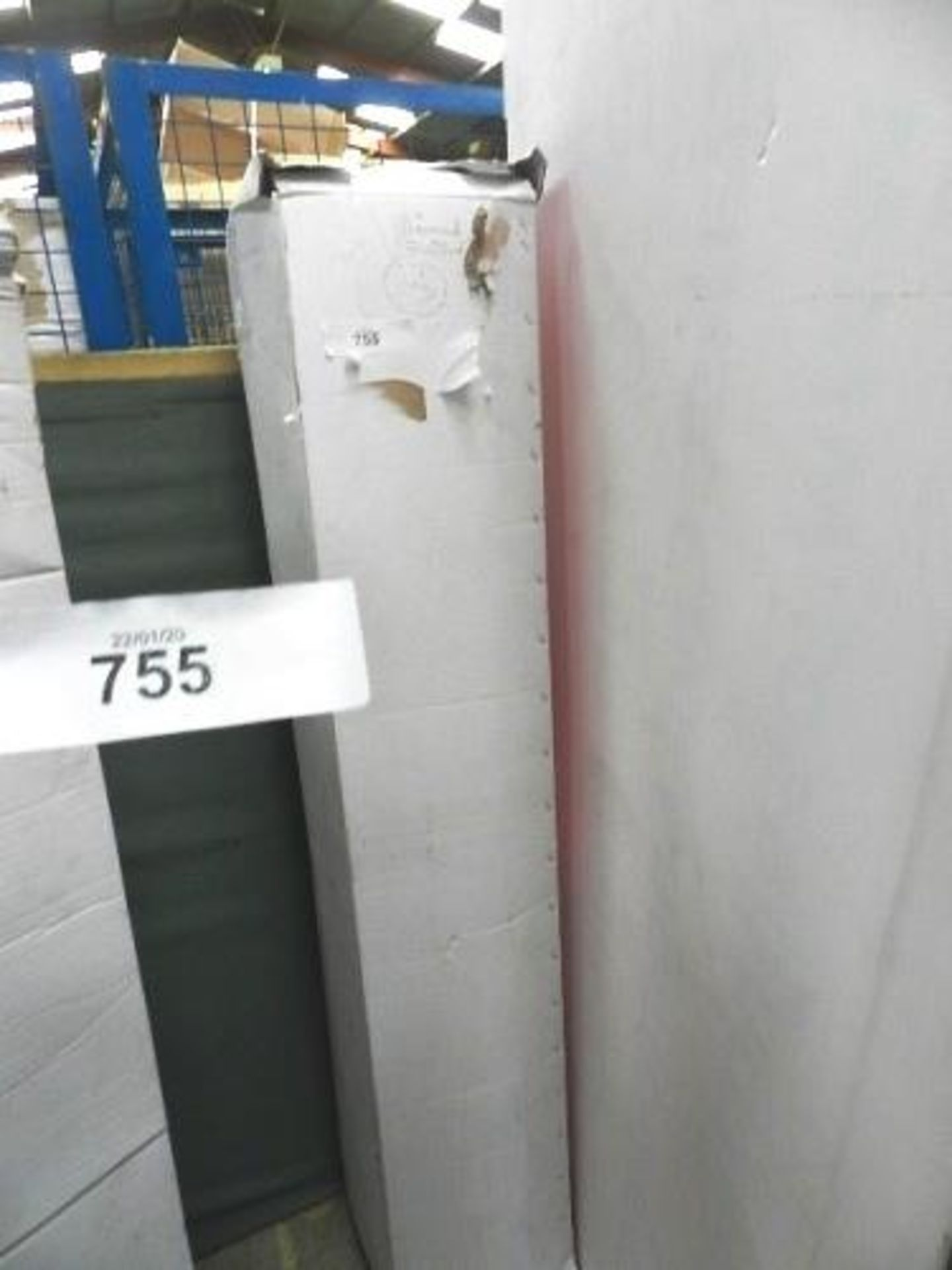 Lot 755 - 1 x sprung double mattress, approximately 5ft wide - Sealed new in box (GSF31)