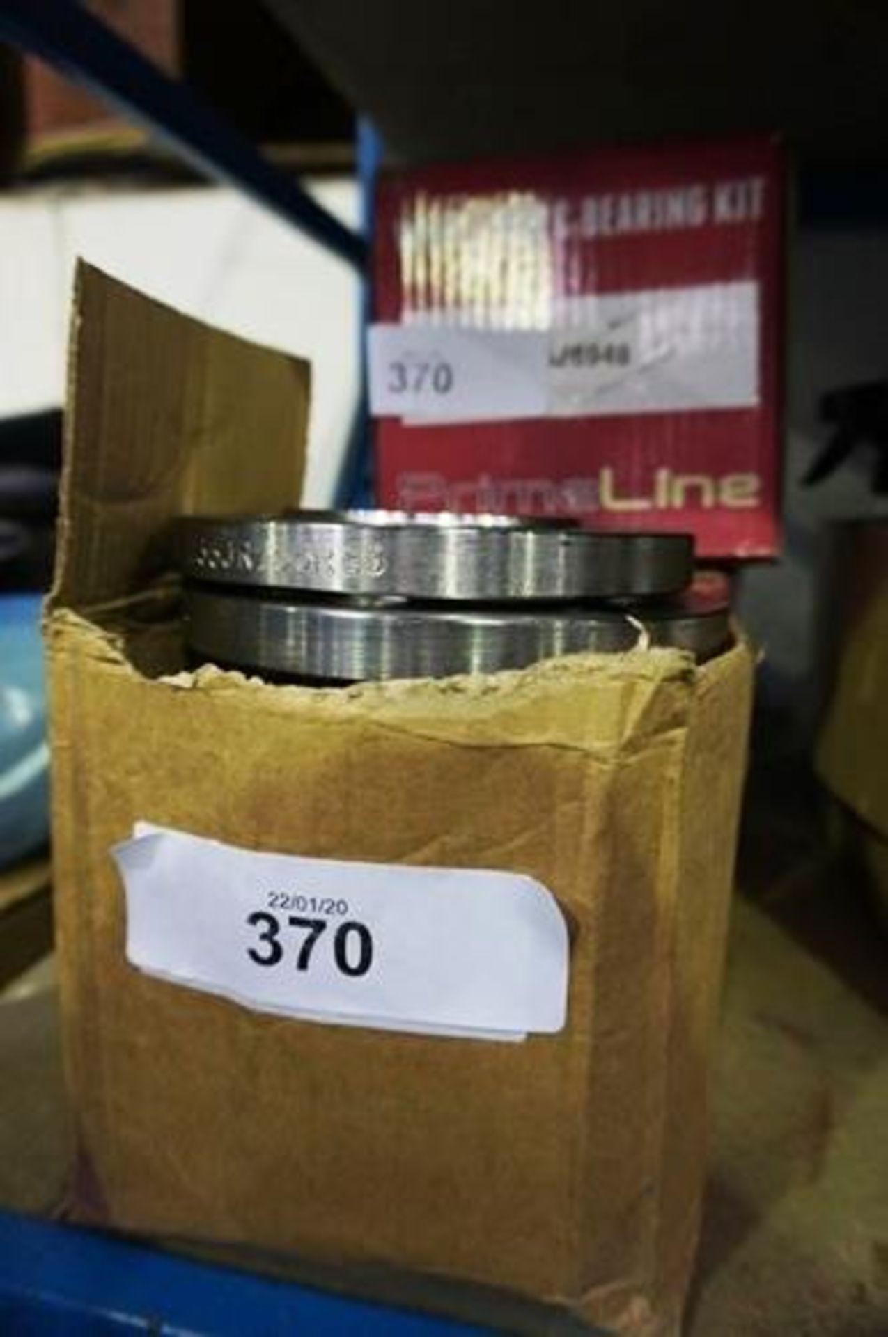 Lot 370 - 2 x Prime Line wheel hub and bearing kit, P.N. PLB26948 - New (GS11)