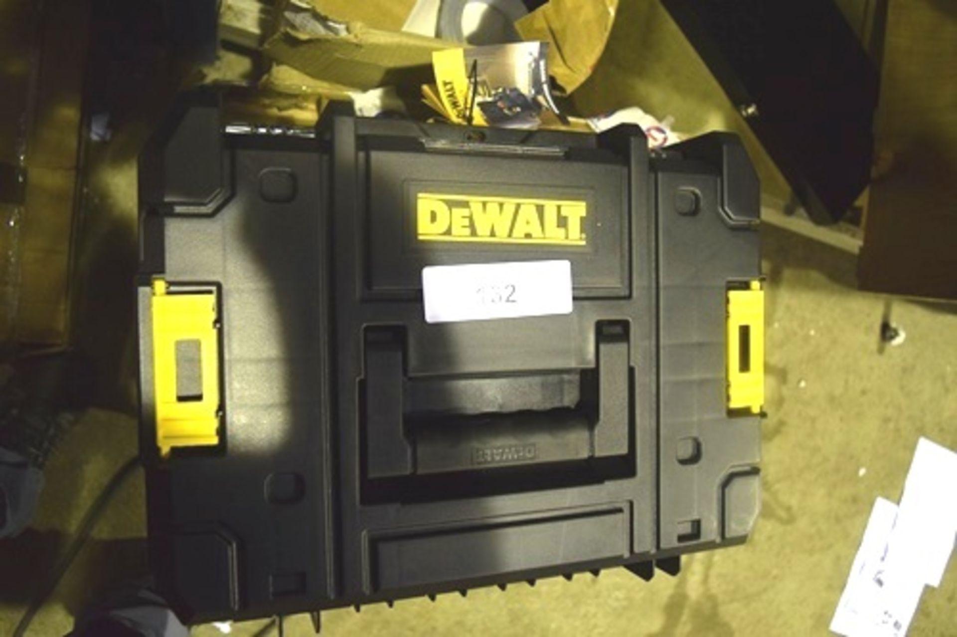 Lot 132 - 2 x DeWalt T Stak tool boxes - New (GS26)