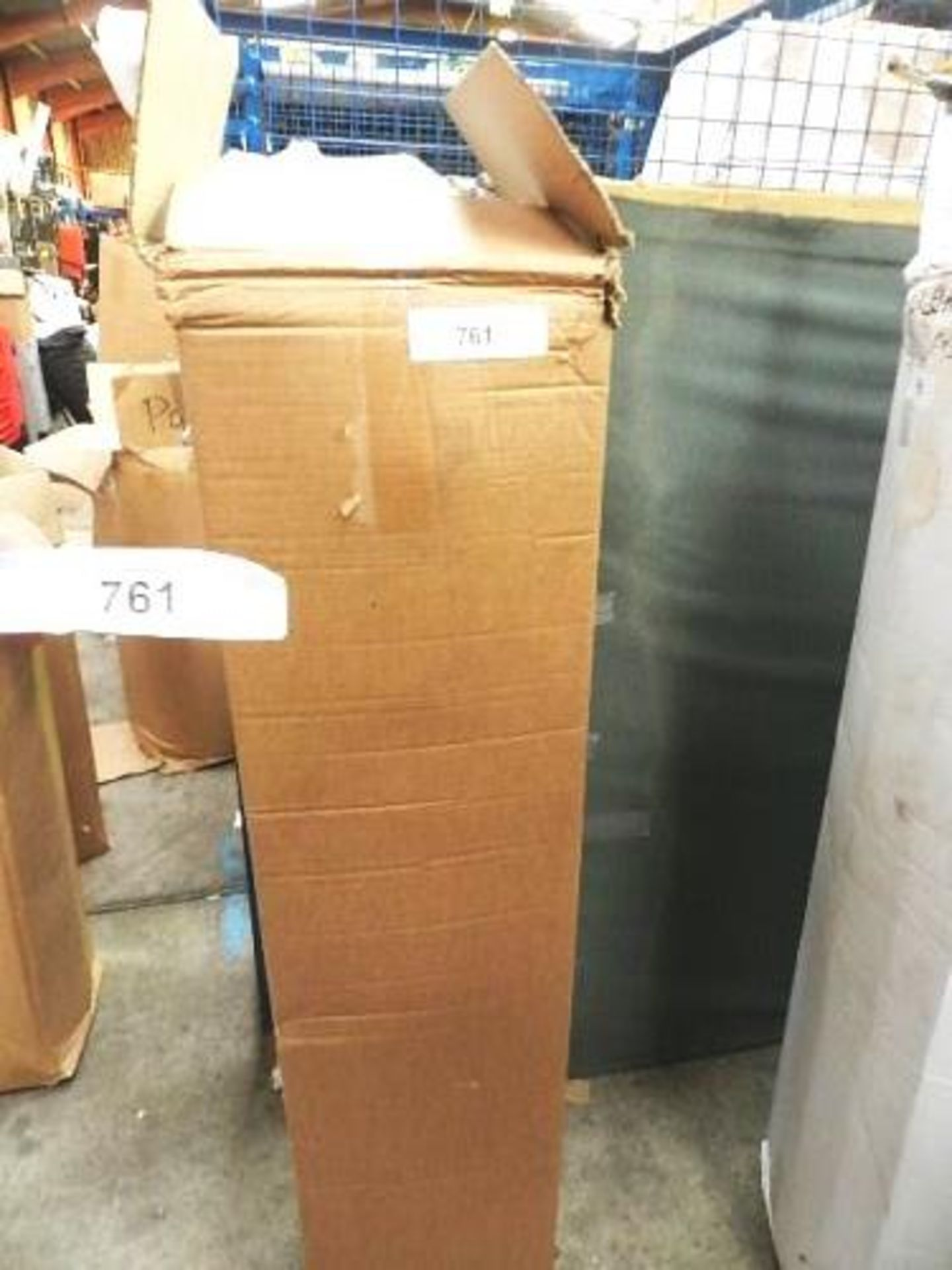Lot 761 - 1 x sprung double mattress, 4.5ft wide - Sealed new in box (GSF31)