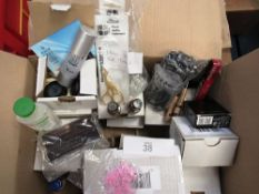A quantity of makeup items, brands include Collection, Fashion Fair, Revlon, Veana including 12 x
