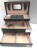 5 x Cordays jewellery cases, assorted colours and sizes - New (C6C)