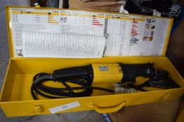 1 x Rems Tiger reciprocating saw ANC set, tool type 560000, 110V 2400 min max, with holding vice,