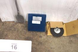 "A mixed lot comprising 1 x Halo concrete polishing disc, size 7"" diameter, 1 x Right Lines diamond"