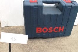 1 x Bosch planer, mode GHO 40-82C professional, 240V with accessories, cased, tested working