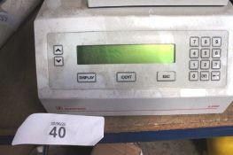1 x Sarstedt laboratory sample tester, type SEDI Plus S2000 dual voltage, 40 slot capacity and 2 x