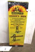 1 x Roughneck logger's mate cutting bench, stock code 65-690 (TC2)