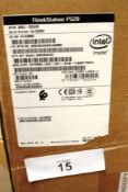 Lenovo ThinkStation P520 PC tower workstation, model 30BQSO2AOO, minimum spec. Windows 10, 16gb Ram,