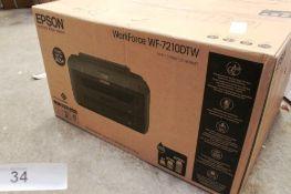 Epson WorkForce WF-72 10DTW printer - Sealed new in box (ES4)