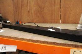 LG SWK10Y soundbar, subwoofer - Second-hand, powers on (ES3)