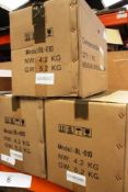 3 x Adexa commercial blender, model BL-010 - New in box (ES2)