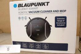 Blaupunkt Bluebot XSMART robotic vacuum cleaner and mop, - New in box (ES2)