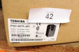 Toshiba power inverter, VFAS1-400 7PL-WP1 - New in box (ES4)