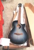 Ibanez AEG50-IBH acoustic guitar with broken neck - In box