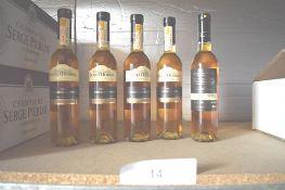 5 x 375ml bottles of Lenz Moser Prestige Beerenauslese 2008 (5) (ES14)