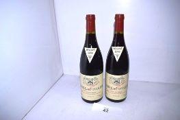 2 x Chateau de Fonsalette Cotes du Rhone 1999 (2) (cab1)