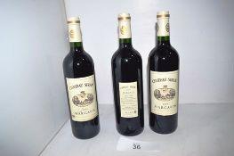 6 x bottles of Chateau Siran Margaux 2009 (6) (Cab1)