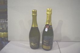 3 x 75ml bottles of The Wine Society's private cuvee champagne together with 6 x 75cl bottles of