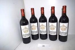 5 x bottles of Chateau Labegorce Margaux 2009 (5) (Cab1)