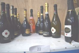 14 x assorted bottles of sparkling wine including 14 x 75cl bottle of The Wine Society's Prosecco (