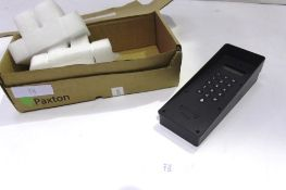 A Paxton Net 2 entry key panel, surface mount with rain hood, model 337-410, RRP £500.00 - New in