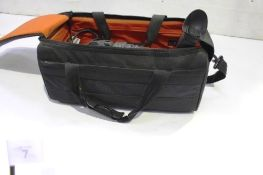 A Canon XF300 HD professional video recorder, with carry bag, batteries and charger, RRP £1600.00,