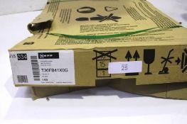 A NEFF electric glass hob, Ref: T36FB41XOG, type HMI40ICM2 - New in box (ES3)