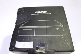 A Star mPOP combined receipt printer and cash drawer with Bluetooth, model 39650091, RRP £300.00 -