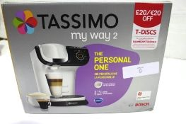 A Bosch Tassimo Intelibrew coffee machine, model TAS6504GB - New in box (ES1)