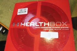 HTC Health Box fitness trainer, model 2PQ6, includes scales and watch - Second-hand, unchecked (
