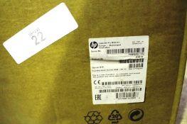HP LaserJet Pro M501DN printer, model J8H61A, RRP £260.00 - New in box, box tatty (ES2)